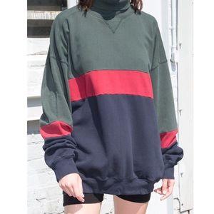 Brandy Melville Alfie Turtleneck Sweatshirt